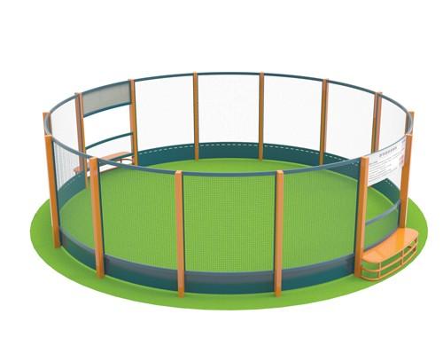 360°圆形足球场