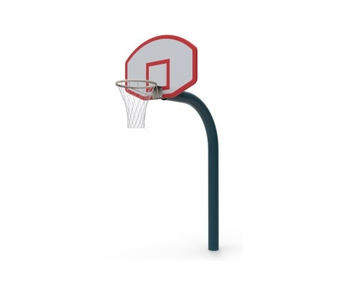 儿童用直埋篮球架