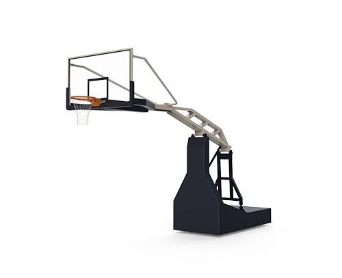 手动液压篮球架(玻璃篮板)