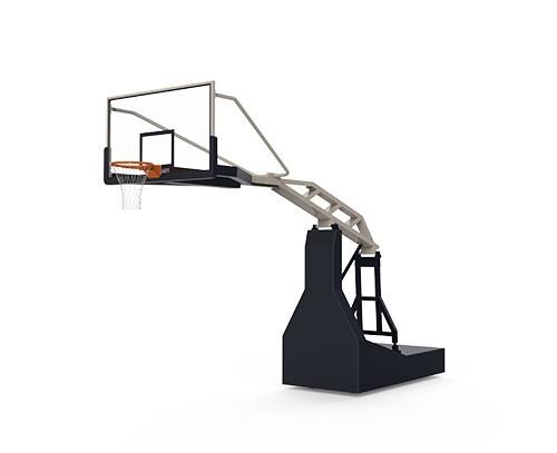 电动液压篮球架(玻璃篮板)