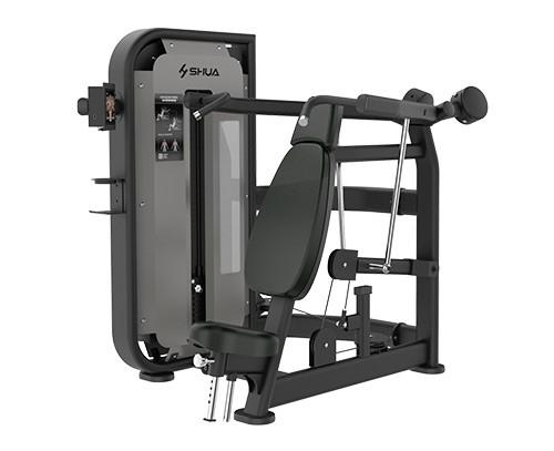 果洛SH-G6804T坐式肩膊推举训练器(触屏版)